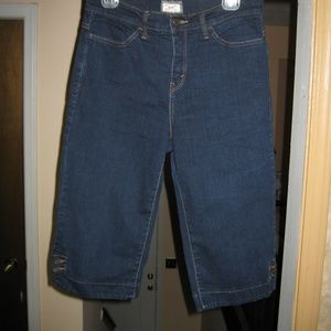 Levi's 512 Perfect Slimming Denim Capris